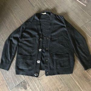 Black Kate Spade Cardigan Size M- Potential!